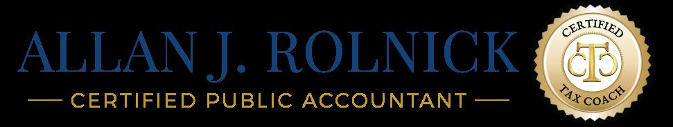 Allan J Rolnick, CPA, CTC Logo
